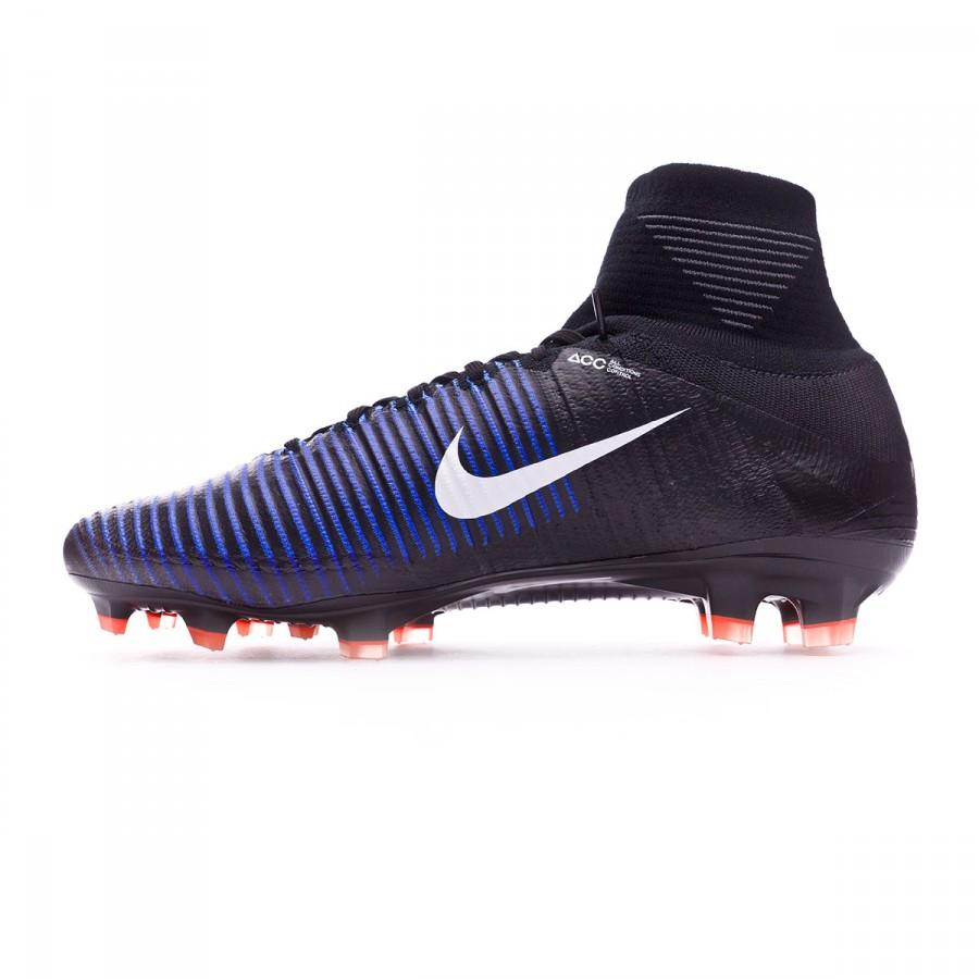 fb3f3063a027 Football Boots Nike Mercurial Superfly V ACC FG Black-White-Electric green  - Tienda de fútbol Fútbol Emotion