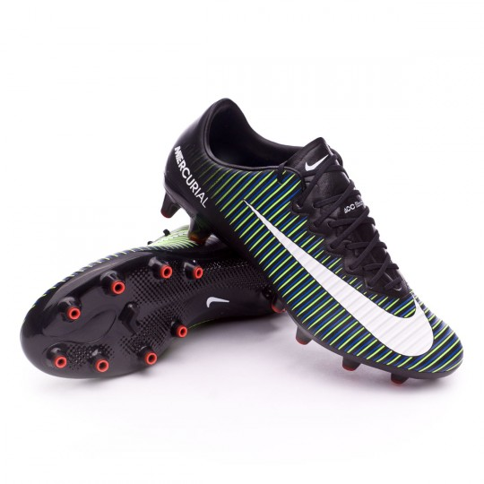 Chaussure  Nike Mercurial Vapor XI ACC AG-Pro Black-White-Electric green