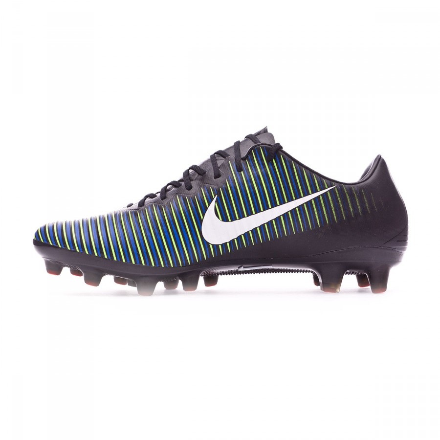 9eaa3652d Football Boots Nike Mercurial Vapor XI ACC AG-Pro Black-White-Electric  green - Football store Fútbol Emotion