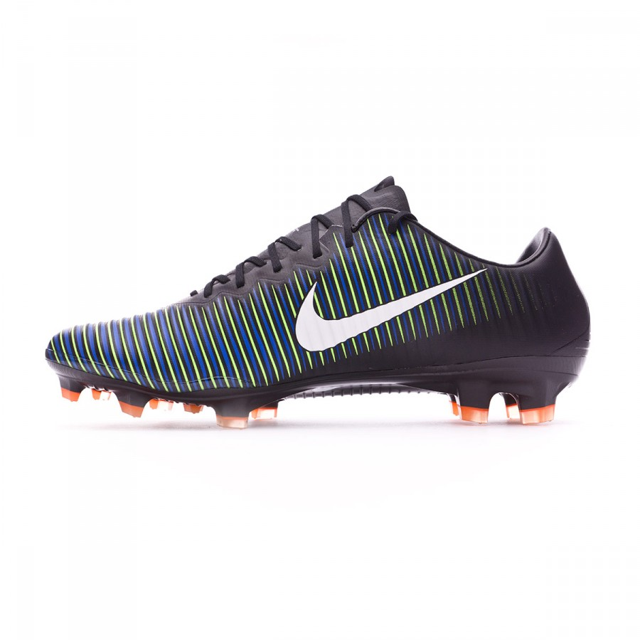 1d436a9d1 Football Boots Nike Mercurial Vapor XI ACC FG Black-White-Electric green -  Tienda de fútbol Fútbol Emotion