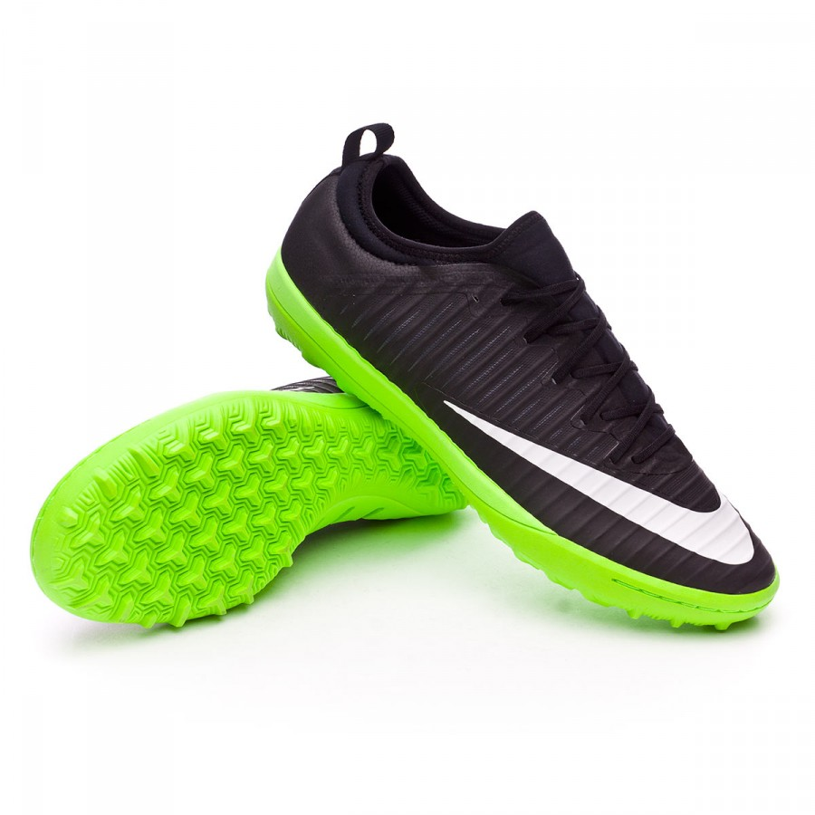498247d615e70 Football Boot Nike MercurialX Finale II Turf Black-White-Electric ...