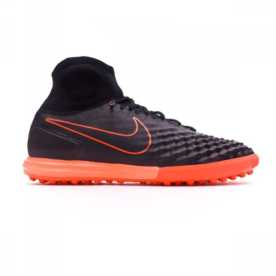 d8b1fd49f5ca Football Boot Nike MagistaX Proximo II Turf Black-Hyper orange-Paramount  blue - Football store Fútbol Emotion