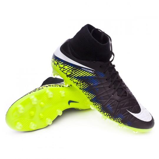 Bota  Nike HyperVenom Phatal II Dynamic Fit AG-Pro Black-White-Volt-Paramount blue