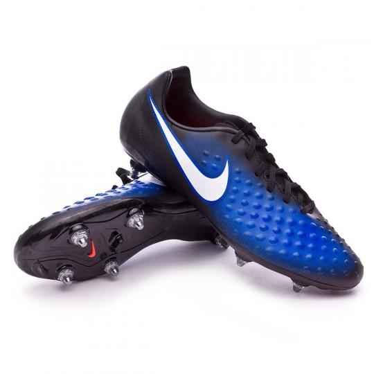 Chaussure  Nike Magista Onda II SG Black-White-Paramount blue-Blue tint
