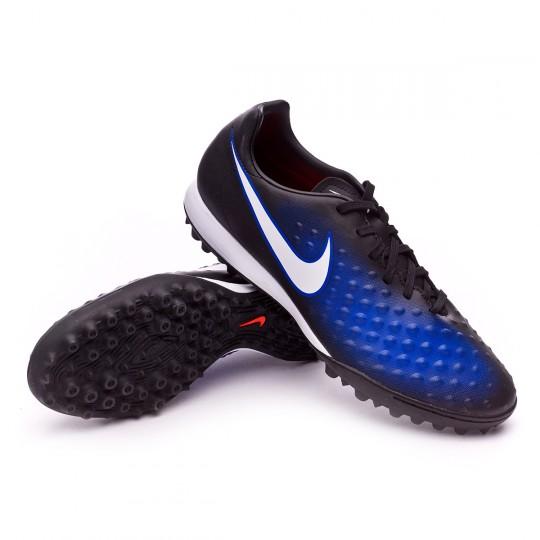 Zapatilla de fútbol sala  Nike MagistaX Onda II Turf Black-White-Paramount blue-Blue tint