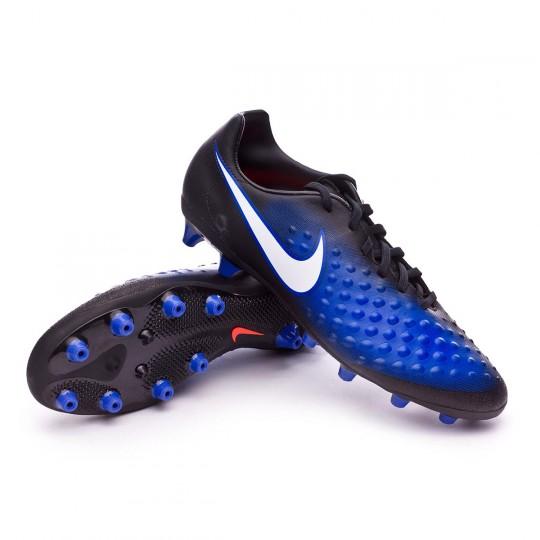 Chaussure  Nike Magista Onda II AG-Pro Black-White-Paramount blue-Blue tint