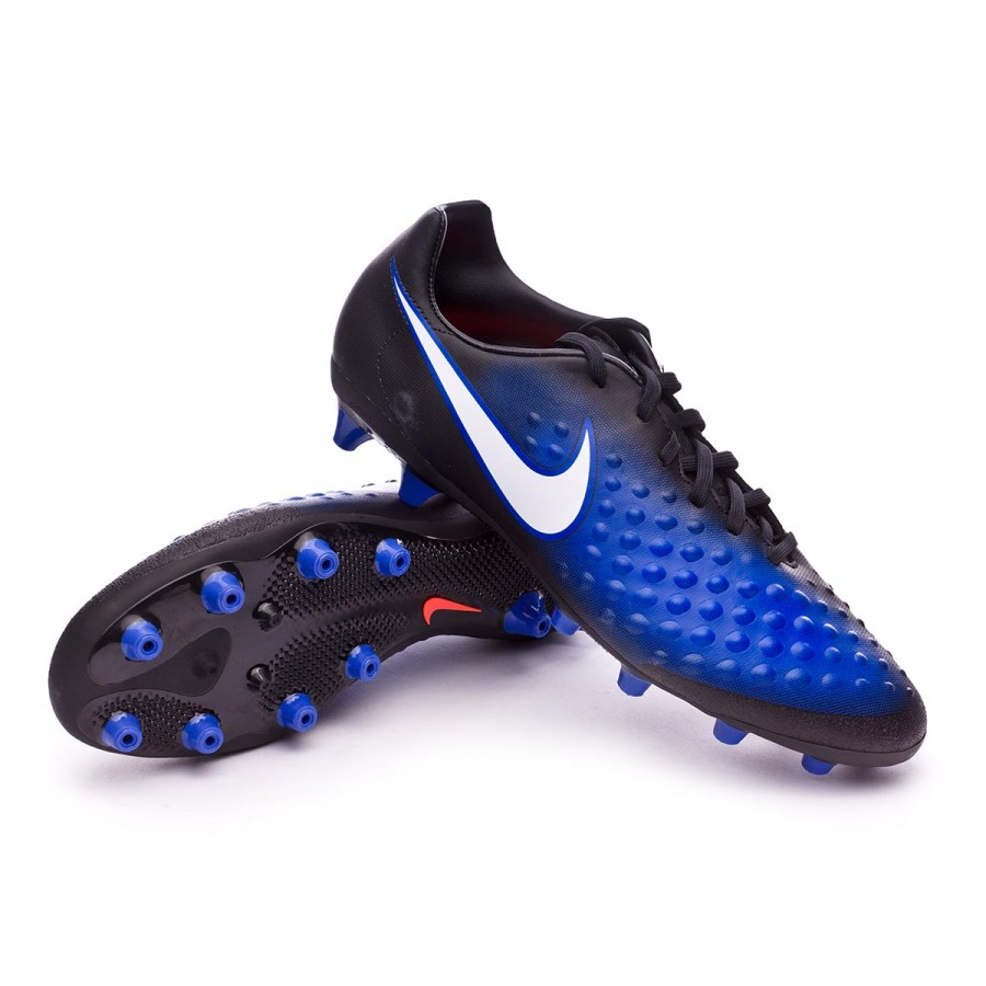 85eaf5575a17 Football Boots Nike Magista Onda II AG-Pro Black-White-Paramount ...