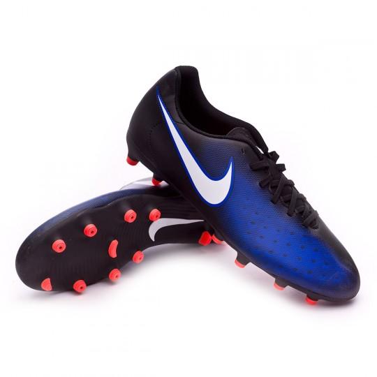Bota  Nike Magista Ola II FG Black-White-Paramount blue-Hyper orange