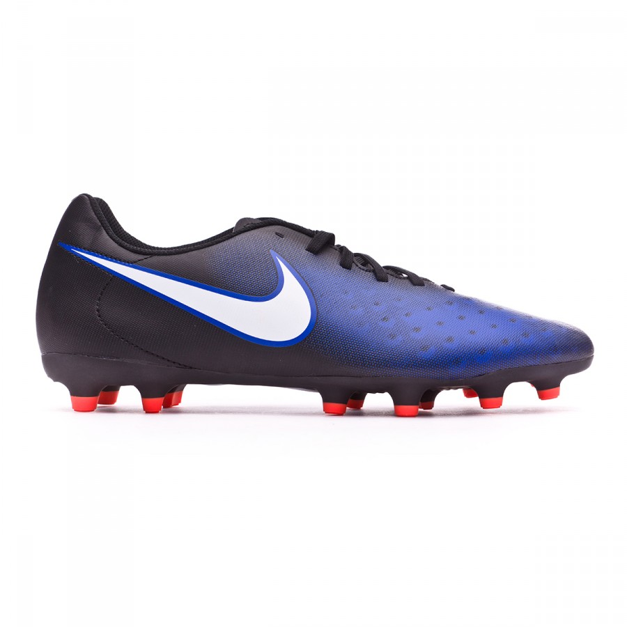 d369bc61ceda Football Boots Nike Magista Ola II FG Black-White-Paramount blue-Hyper  orange - Football store Fútbol Emotion