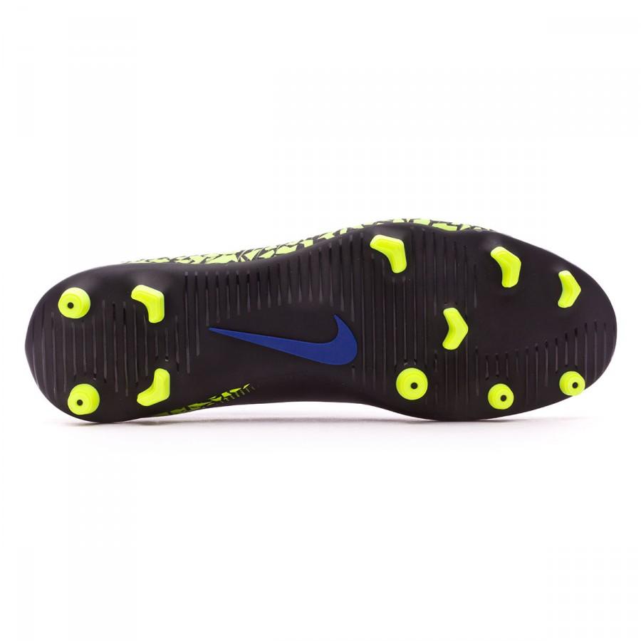 bc107d47f71 Football Boots Nike Hypervenom Phade II FG Black-White-Volt-Paramount blue  - Football store Fútbol Emotion