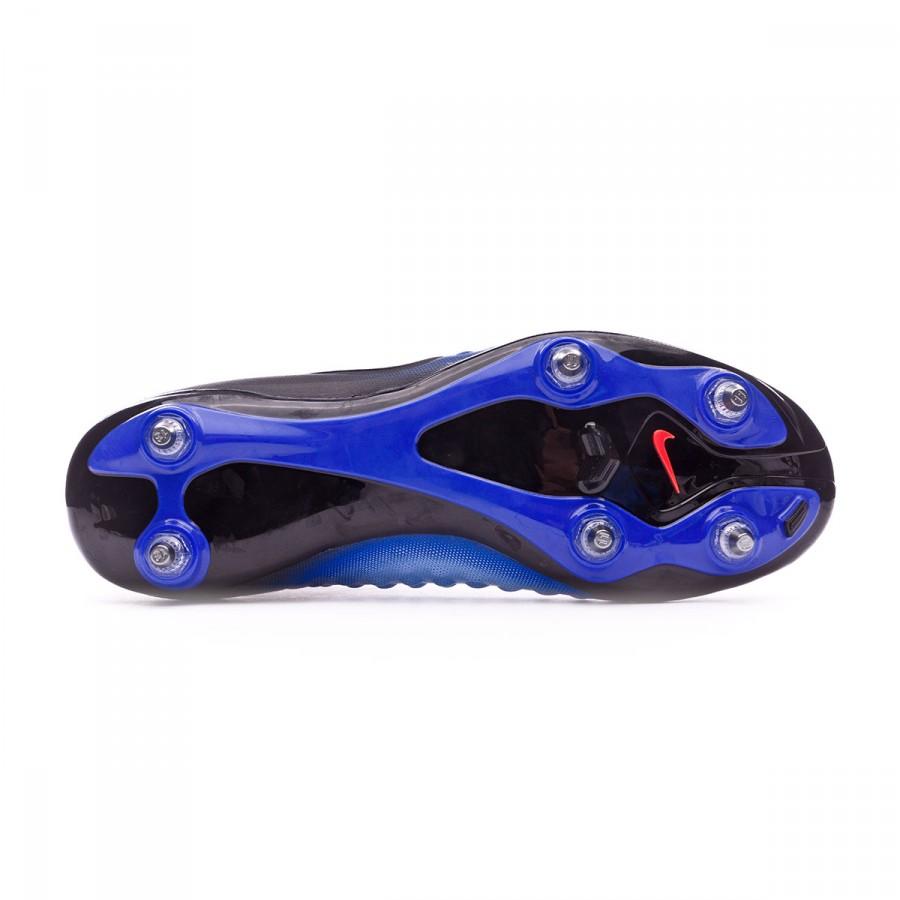 e7d018e09e90 Football Boots Nike Magista Orden II SG Black-White-Paramount blue-Aluminum  - Football store Fútbol Emotion