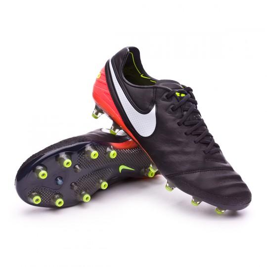 Bota  Nike Tiempo Legend VI ACC AG-Pro Black-White-Hyper orange-Volt