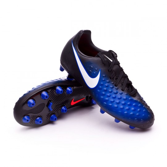 Bota  Nike jr Magista Opus II AG-Pro Black-White-Paramount blue-Blue tint