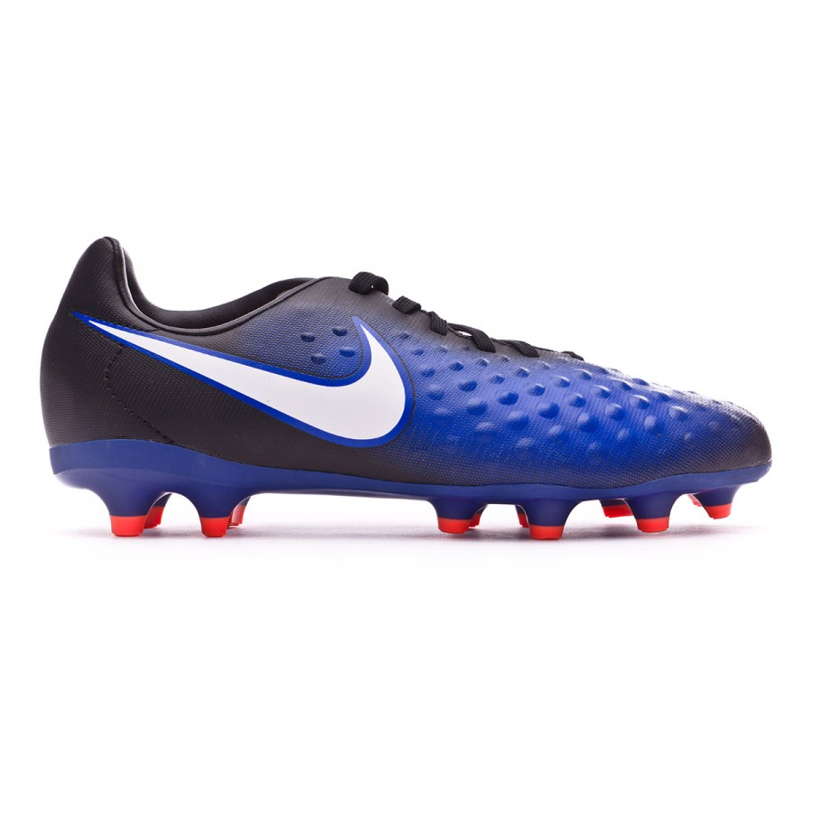competitive price d9162 7584d Football Boots Nike Jr Magista Opus II FG Black-White-Paramount blue-Blue  tint - Football store Fútbol Emotion