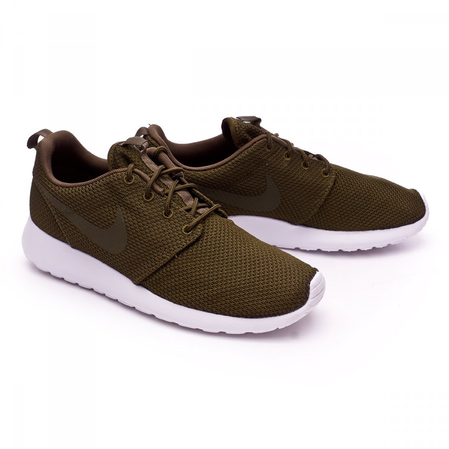 e069ae66156a Trainers Nike Roshe One Dark loden-White - Football store Fútbol Emotion