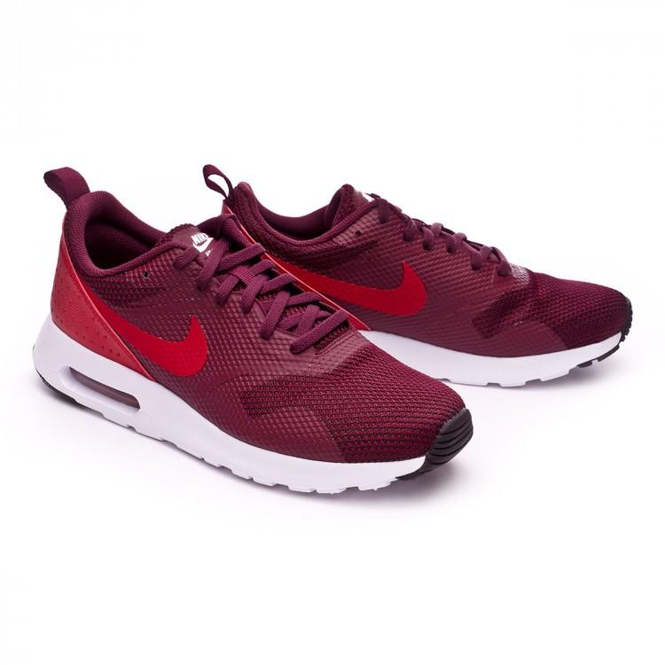 2f01e2dadc5388 Trainers Nike Air Max Tavas Night maroon-Gym red-Black-White ...