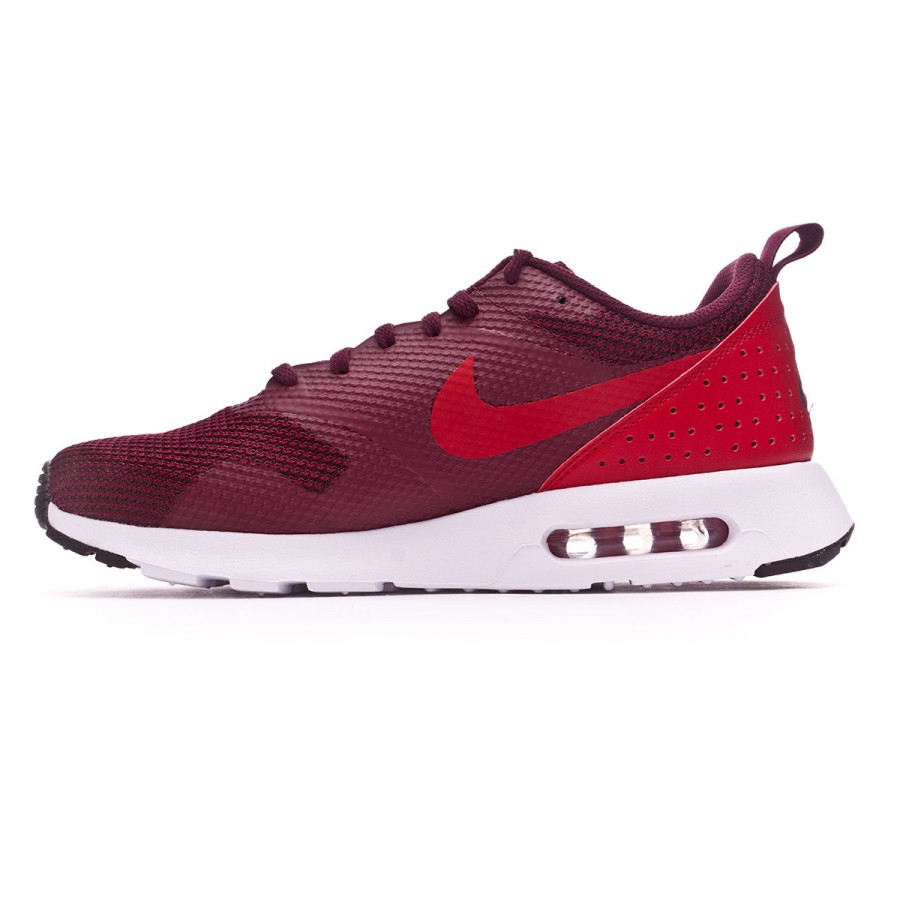 on sale 430cf d5639 Trainers Nike Air Max Tavas Night maroon-Gym red-Black-White - Football  store Fútbol Emotion