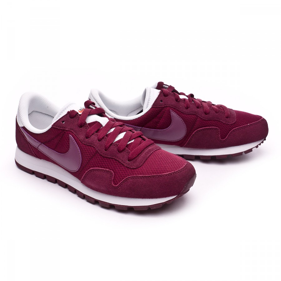 Trainers Nike Air Pegasus 83 Night maroon Violet Shade Off Blanc