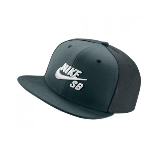 Gorra  Nike SB Icon Snapback Pro Hasta-Seaweed-Black-White