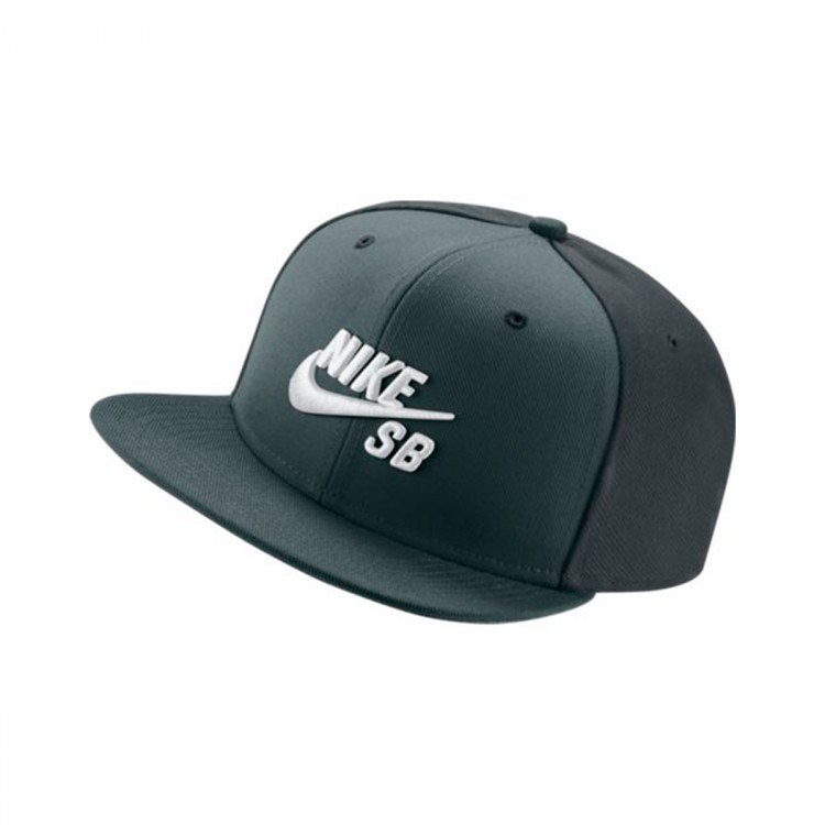 32331bbfcaf93 Cap Nike SB Icon Snapback Pro Hasta-Seaweed-Black-White - Football ...