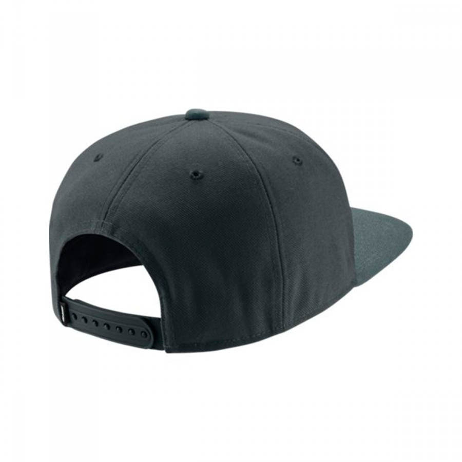 9c88343fe8698 Cap Nike SB Icon Snapback Pro Hasta-Seaweed-Black-White - Football store  Fútbol Emotion