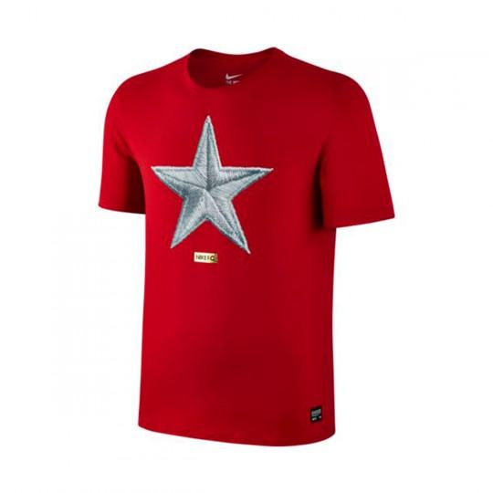 Camiseta  Nike Nike F.C. Star Gym red