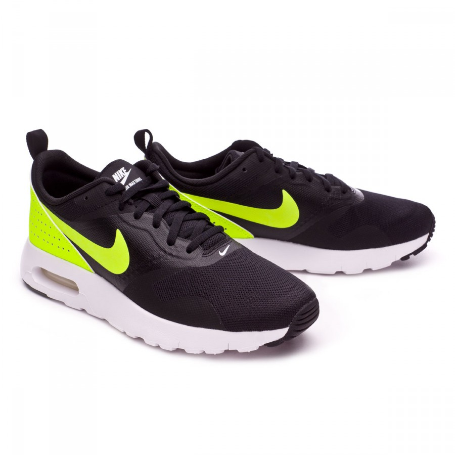 Trainers Nike Jr Air Max Tavas (GS) Black-Volt-White - Football ... aba4f286cdbfe