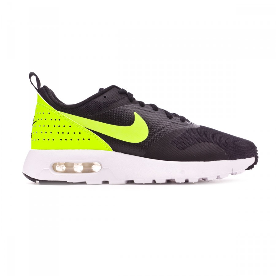 7a4f439fc2267 Trainers Nike Jr Air Max Tavas (GS) Black-Volt-White - Football store  Fútbol Emotion