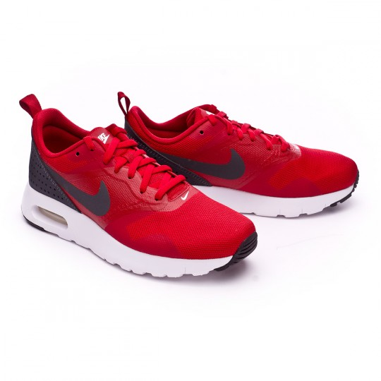 Zapatilla  Nike jr Air Max Tavas (GS) Gym red-Anthracite-White-Black