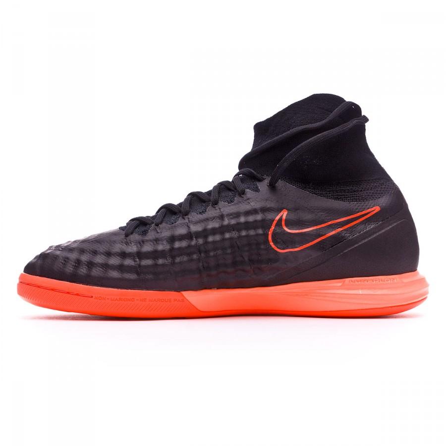05d0d687d1b9 Futsal Boot Nike MagistaX Proximo II IC Black-Hyper orange-Paramount blue -  Football store Fútbol Emotion