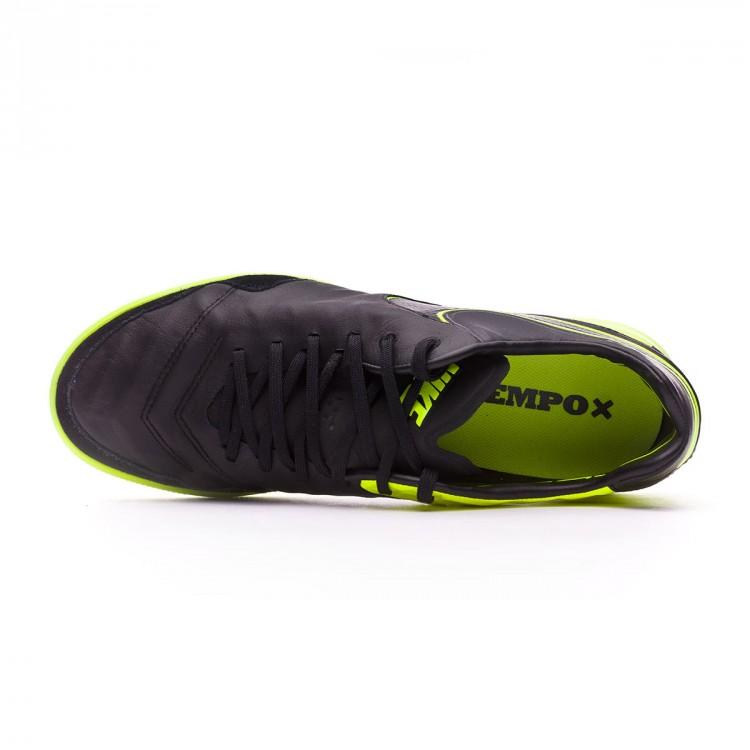 50abef9e827 Futsal Boot Nike TiempoX Proximo IC Black-Volt - Tienda de fútbol ...