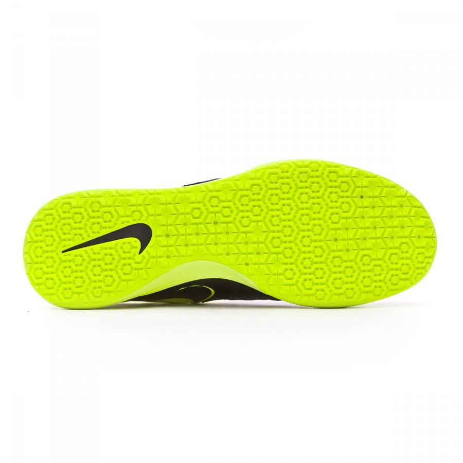 fef9981ec Futsal Boot Nike TiempoX Proximo IC Black-Volt - Football store Fútbol  Emotion