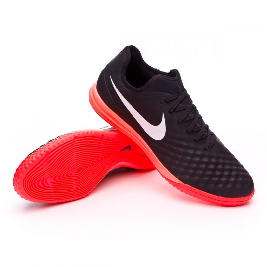 Zapatilla de fútbol sala  Nike MagistaX Finale II IC Black-White-Hyper orange-Paramount blue