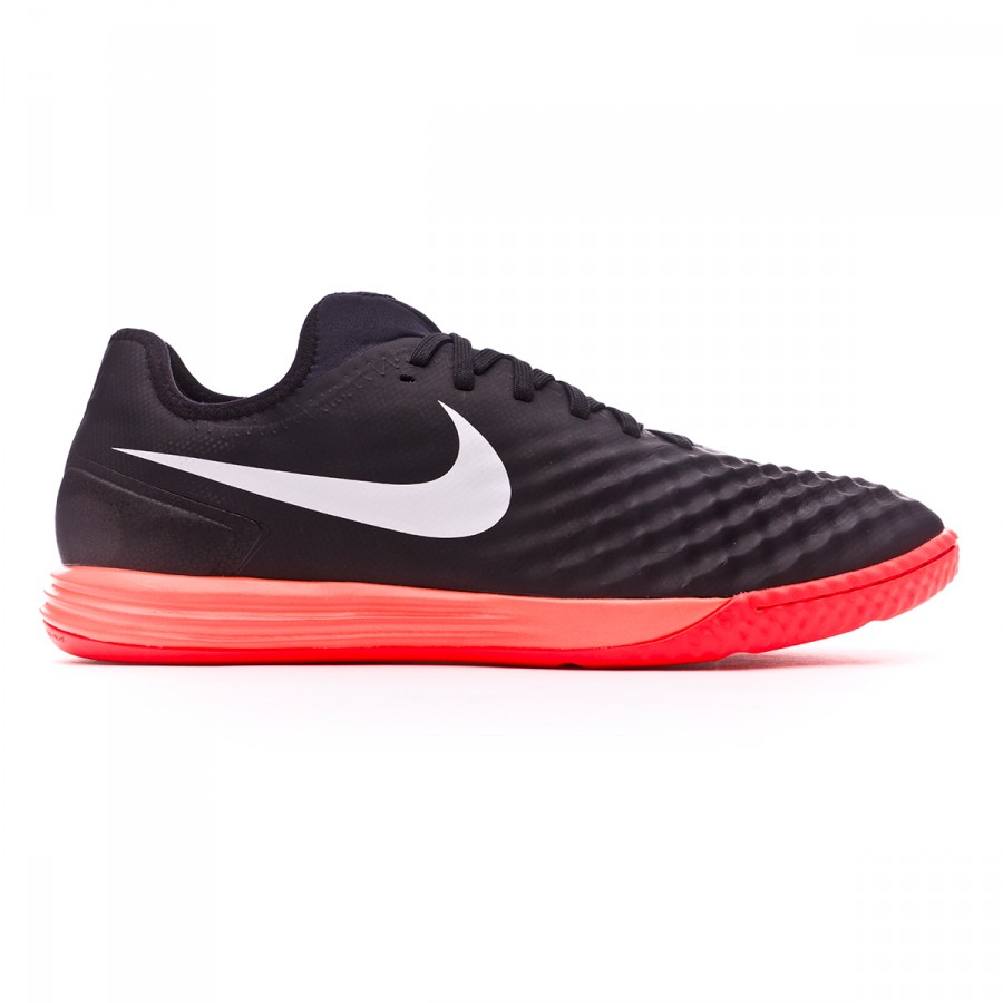 Futsal Boot Nike MagistaX Finale II IC Black-White-Hyper orange-Paramount  blue - Football store Fútbol Emotion 476d951df