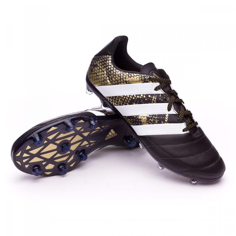 Adidas 2 White Gold Fg Leather Ace Scarpe 16 Metallic Black Core 7dwpBAAqnt
