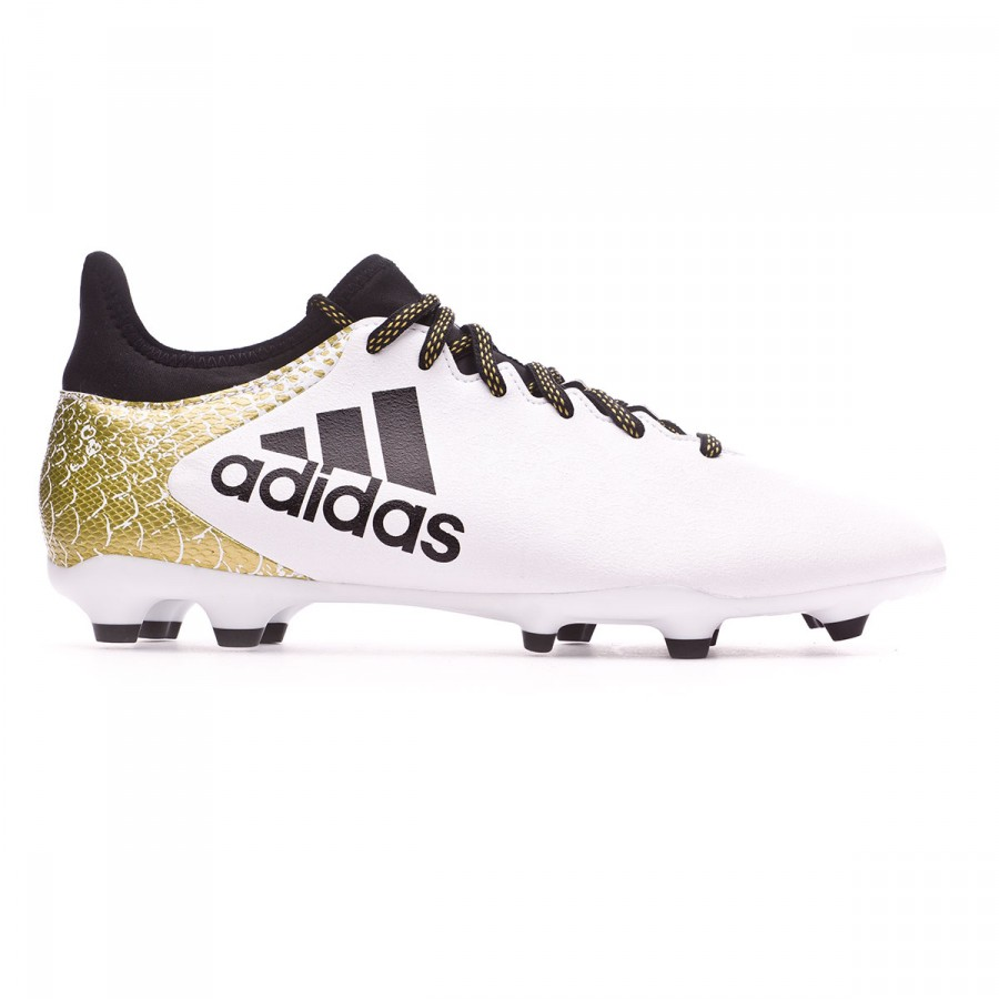promo code 9b402 2e41a ... where to buy scarpe adidas x 16.3 fg ag white core black gold metallic  negozio 360dc