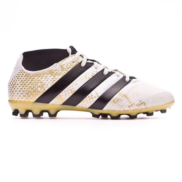 0034c3ab89f6 Football Boots adidas Jr Ace 16.3 Primemesh AG White-Core black-Gold ...