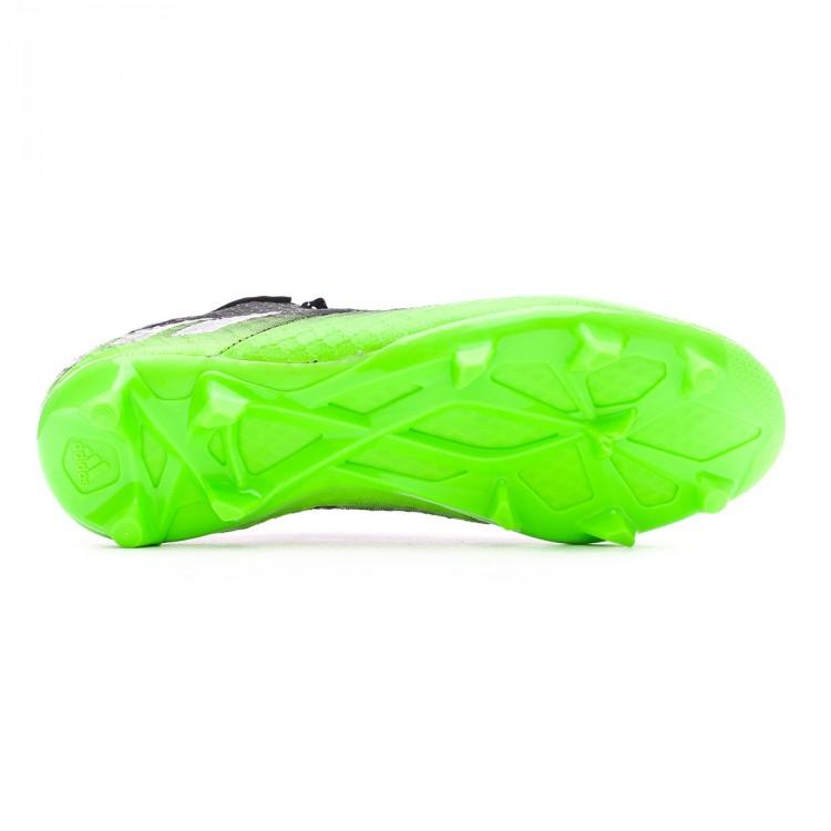 Boot adidas Kids Messi 16.1 FG Dark grey-Silver metallic-Solar green ... 1c0e7b83a2d8b