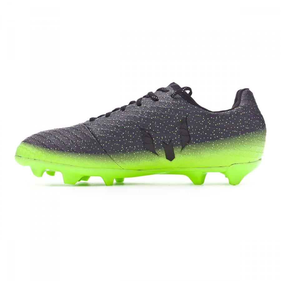 Zapatos de fútbol adidas Messi 16.1 FG Niño Dark grey-Silver metallic-Solar  green - Soloporteros es ahora Fútbol Emotion 8e9d54e8ca992