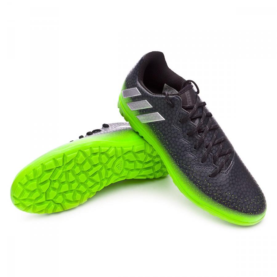 0aa6f64166c Football Boot adidas Jr Messi 16.3 Turf Dark grey-Silver metallic ...