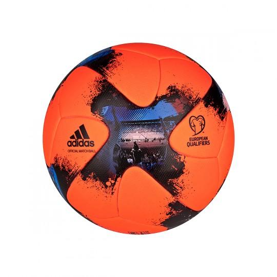 Bola de Futebol  adidas European Qualifier Winterball Solar orange-Solar red-Black
