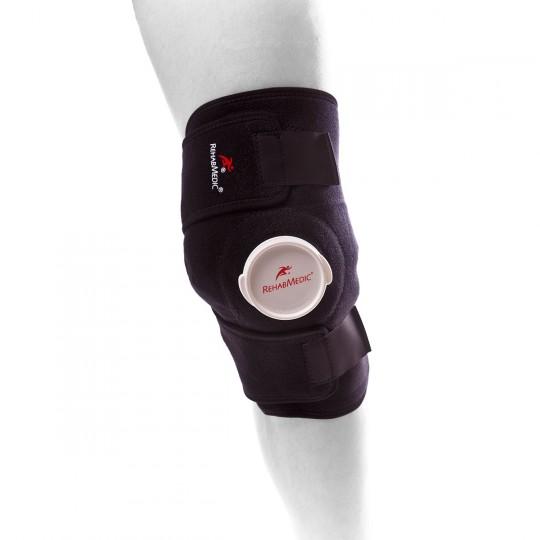 Pulpos  Rehab Medic para Hielo (sin bolsa) Rodilla-Codo Negro