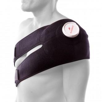 Sac à glaçon  Rehab Medic Epaule-Dos-Torse - Espace prévu pour un sac de glace Noir
