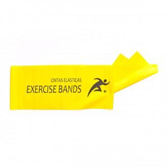 Faixa Rehab Medic Látex para exercicio 1,5m Amarelo