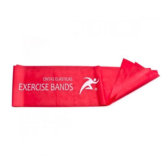 Faixa  Rehab Medic Latex para ejercicio 1,5m Vermelho
