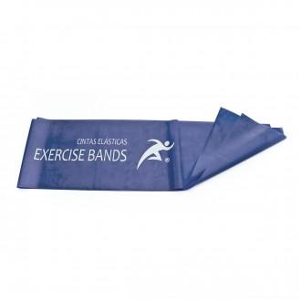 Faixa Rehab Medic Látex para exercício 1,5m (resistência extra forte) Azul