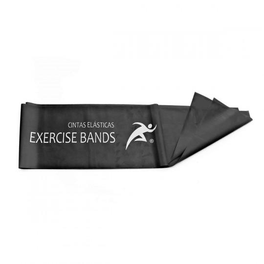 Banda  Rehab Medic Latex para ejercicio 1,5m Negro