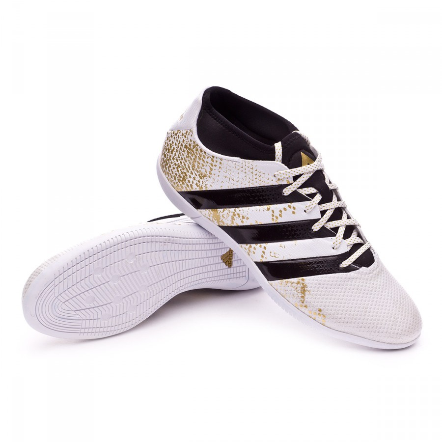 Black Adidas De Gold Ace White In 3 16 Primemesh Chaussure Futsal nOw80Pk