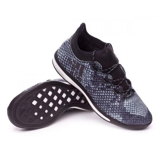 Zapatilla de fútbol sala  adidas X 16.1 Street Viper Vapour green-Black-Dark grey