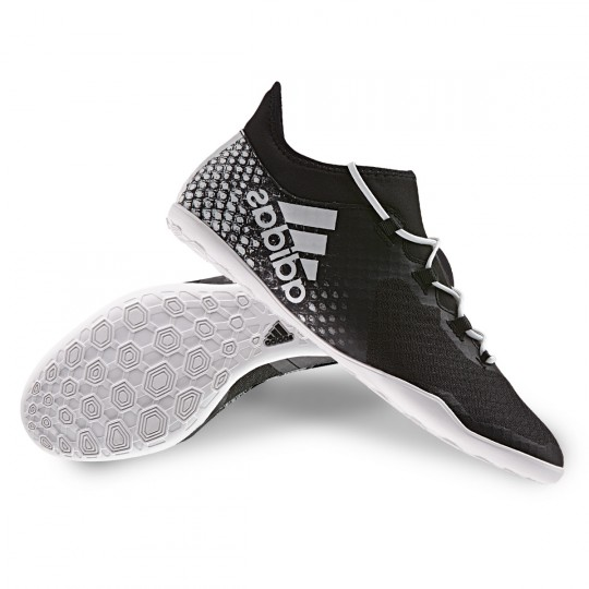 Sapatilha de Futsal  adidas X 16.2 CT Viper Black-White-Gold metallic